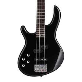 CORT ACTION BASS PLUS LEFT HAND BLACK ACTIVE PICKUPS ELECTRIC BASS GUITAR