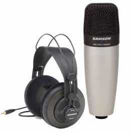 Samson C01 CONDENDSER MIC & SR850 HEADPHONES