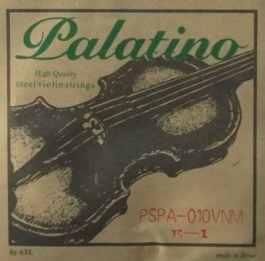 PALATINO 1/2 SIZE & 1/4 SIZE VIOLIN STEEL STRINGS SET