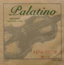 PALATINO FULL SIZE & 3/4 SIZE VIOLIN STEEL STRINGS  SET