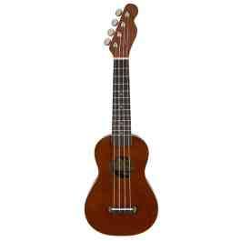 Fender VENICE SOPRANO UKULELE – Natural Finish – Walnut Neck