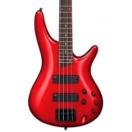 Ibanex SR300EBCA 4-STRING BASS GUITAR CANDY APPLE RED