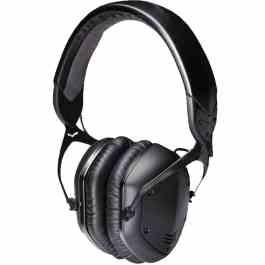 V-Moda LP2 MATTE BLACK METAL HEADPHONES
