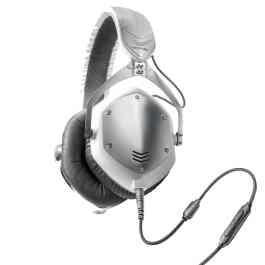 V-Moda M100 CROSSFADE WHITE/SILVER HEADPHONES