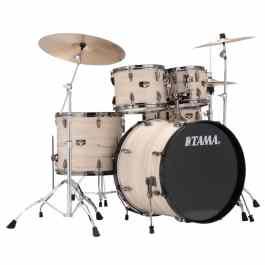 Tama IMPERIALSTAR 5-PIECE DRUM KIT – White Birch Finish + Meinl Cymbal Pack