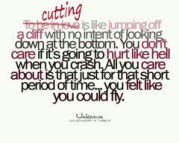 cutting is...