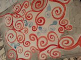 I have a thing for spirals... watercolor on mixed media paper