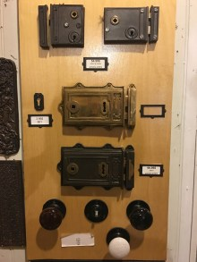 Even complicated turn of the century door and wardrobe locks are on offer