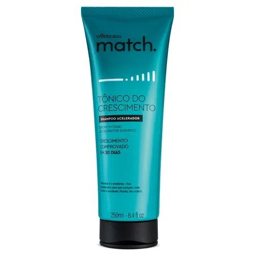 Match Tônico do Crescimento Shampoo, 250ml