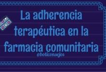 La adherencia terapéutica en la farmacia comunitaria