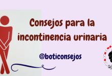 Consejos para la incontinencia urinaria