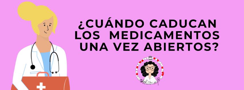 Caducidad medicamentos