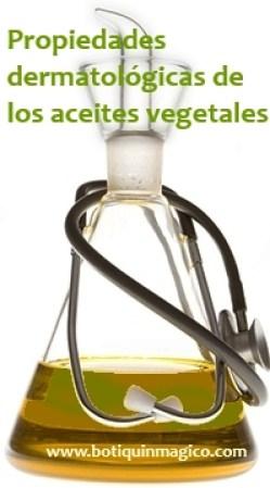 Uso cosmético de los aceites vegetales