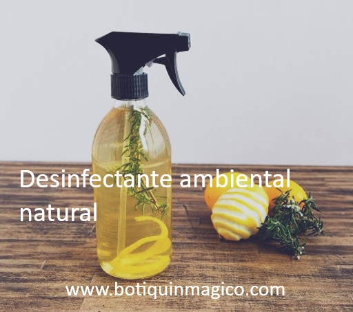 Spray desinfectante ambiental