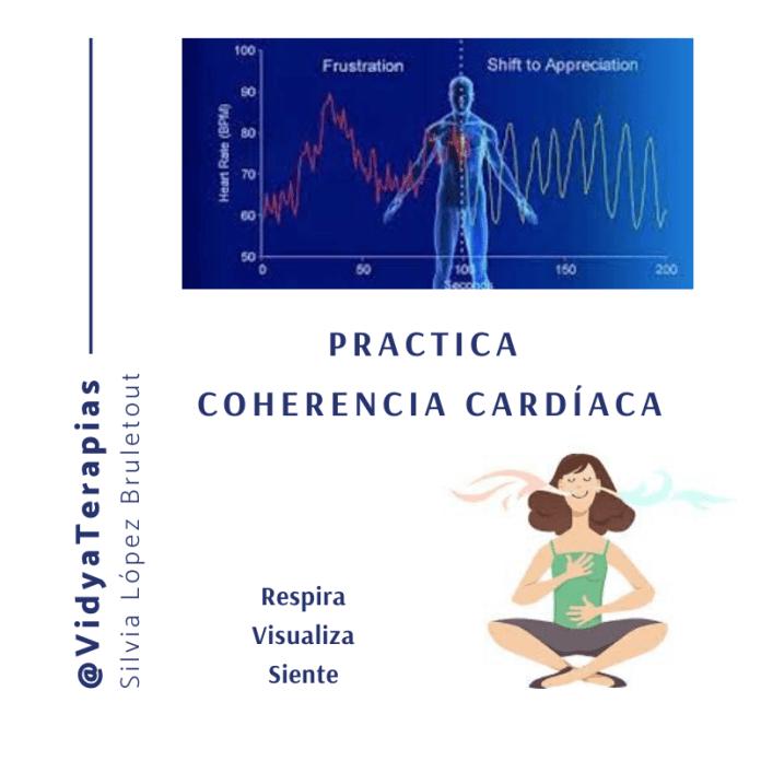La técnica de Coherencia cardíaca consiste en usar el poder de tu corazón para equilibrar pensamientos y emociones