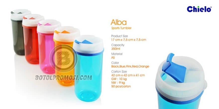 Botol Olah Raga ALBA Chielo untuk Promosi