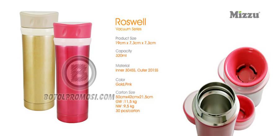 Tumbler Vacuum ROSWELL Mizzu untuk promosi Bali
