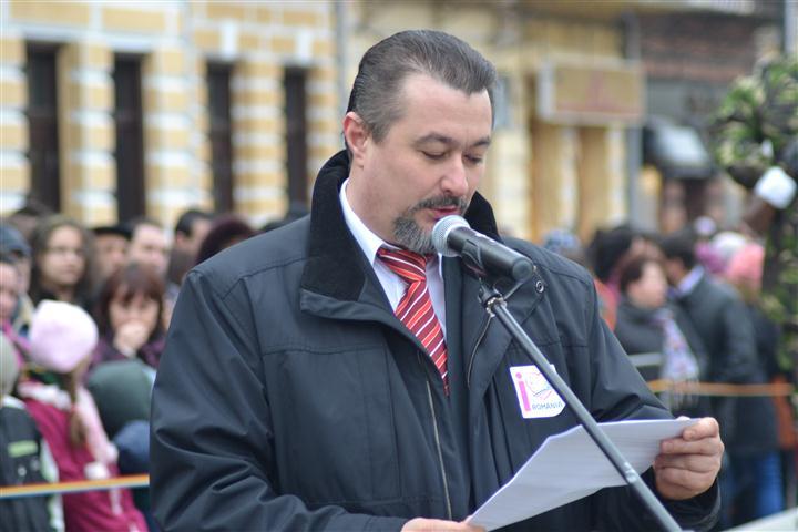 senatorul Daniel Humelnicu discurs de Ziua Nationala a Romaniei