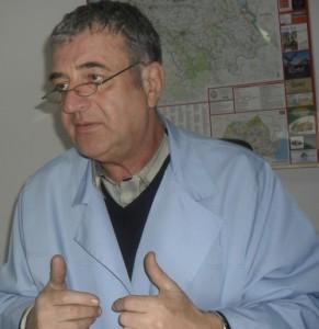medicul Ovidiu Mimor, managerul Spitalului Judetean