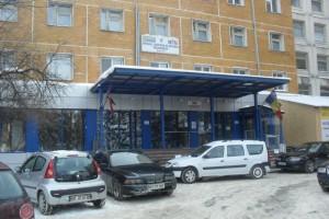 Spitalul Judetean iarna
