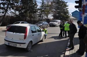 accident Calea Nationala- Rompetrol