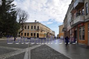 centrul vechi al municipiului Botosani