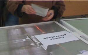 buletin de vot la alegerile parlamentare