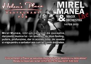Mirel Manea şi Magix Orchestra la Helens Place