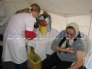 cadre medicale care masoara tensiune la Botosani