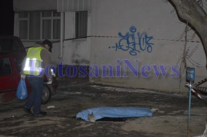 criminalisti cadavru tanara aruncata de pe bloc primaverii botosani6
