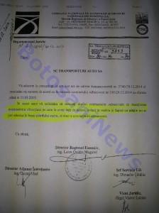 document TASA Botosani