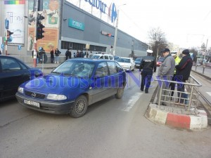 opel accident carrefour botosani