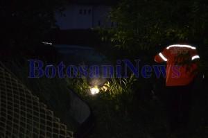 mercedes accident gard rupt botosani