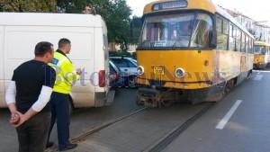 tramvaie blocate la Botosani
