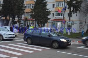 accident ford trecere de pietoni teatru mihai eminescu- Botosani