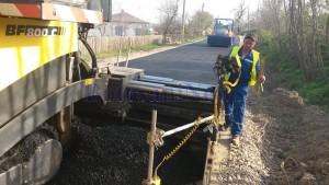 asfaltare drum Manastirea Doamnei - Curtesti - Botosani