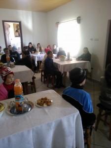 elevi in vizita la scoala parohiala