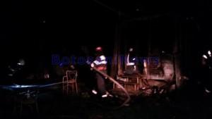 incendiu in gospodaria lui Florentin Pietraru - Botosani
