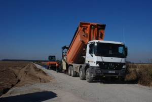 drumuri de exploatare, stiri, botosani- modernizare- drum de piatra