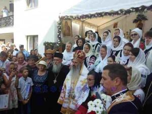 ips teofan la sfintirea bisericii copalau- botosani