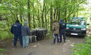 contrabandisti tigari politie frontiera