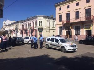 politie si jandarmi in centrul vechi 1