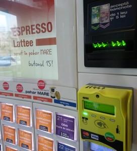 aparat de cafea cu plata cu cardul, dallmayr, botosani, stiri