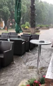 inundatie unirii