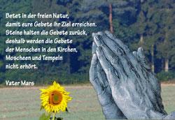 Betet in der Natur