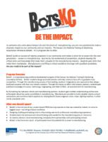 BotsKC Sponsor Kit