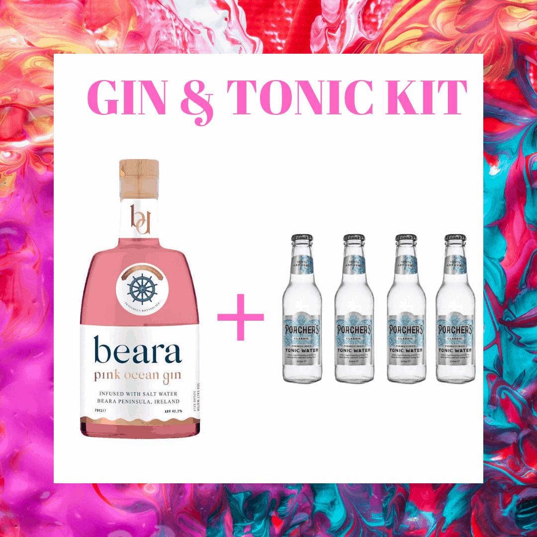 Beara Pink Gin & Tonic Kit