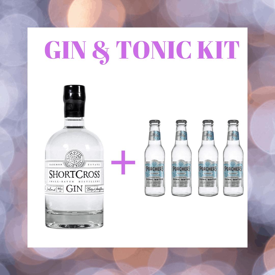 Shortcross Gin & Tonic Kit
