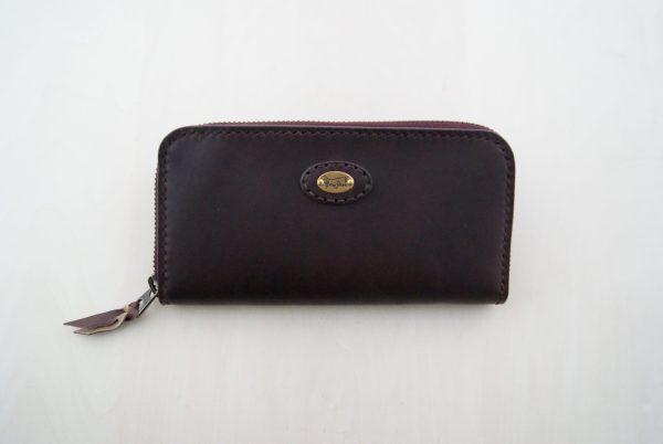 イタリアンレザーの長財布