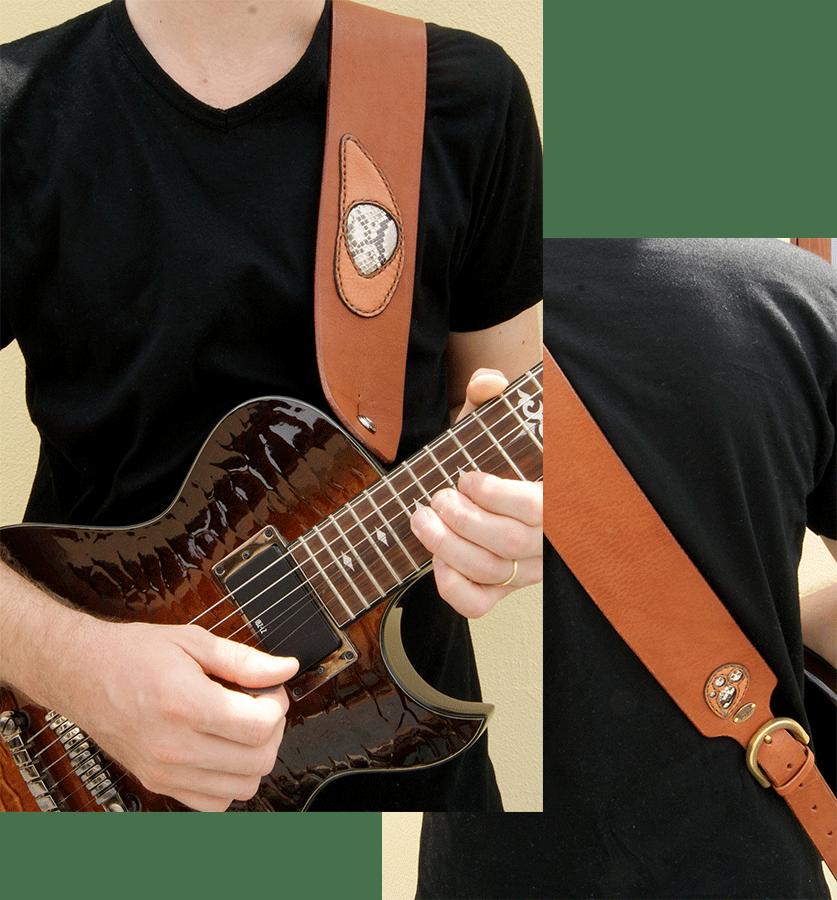 オリジナルギターストラップ